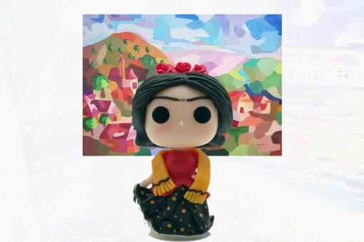 Custom POP Frida Kahlo Inspired