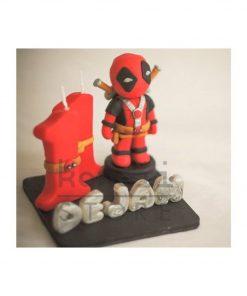 Birthday Candle theme Deadpool