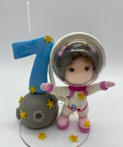 Birthday Candle theme Astronaut
