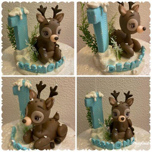 Birthday Candle theme baby moose