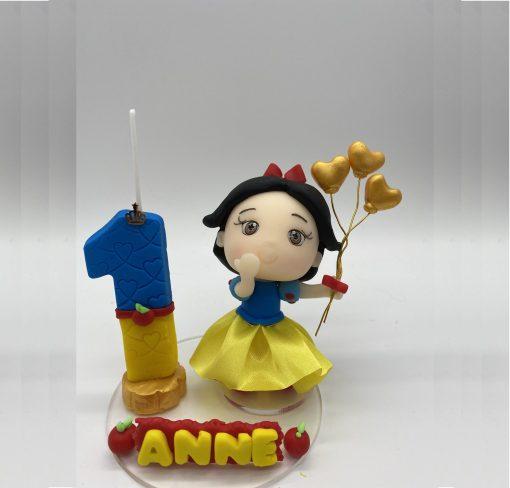 Birthday Candle theme Snow White Inspired