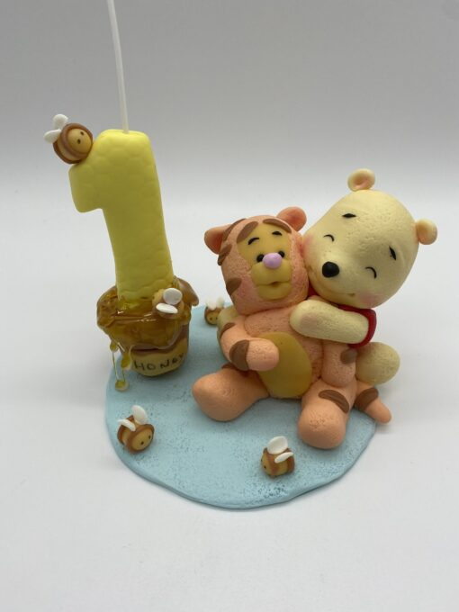 Birthday Candle theme Pooh and Tigger Inspired