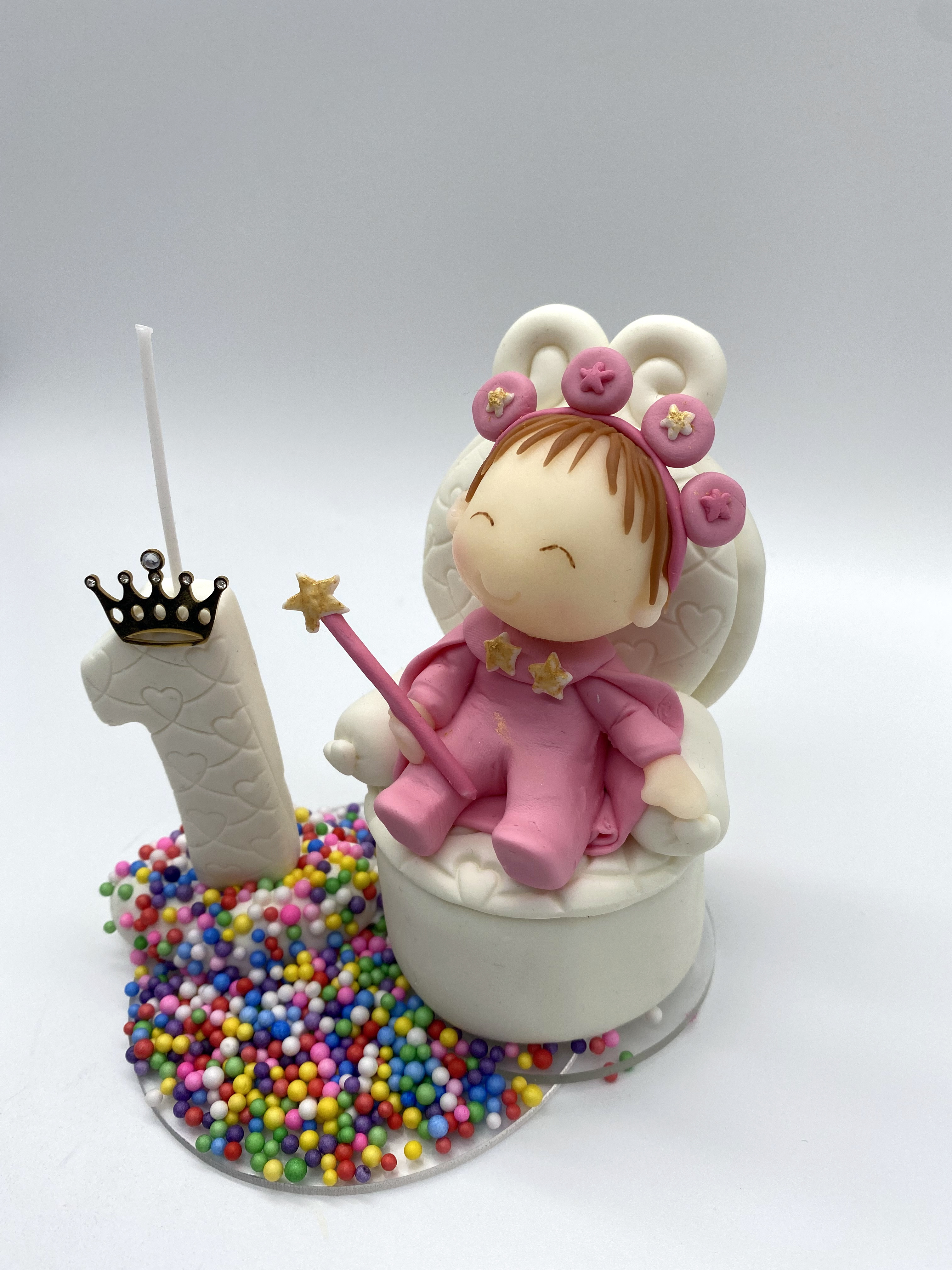 Little Princess on the Throne