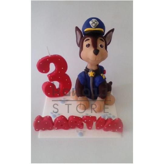 Birthday Candle theme PAW Patrol Inspired