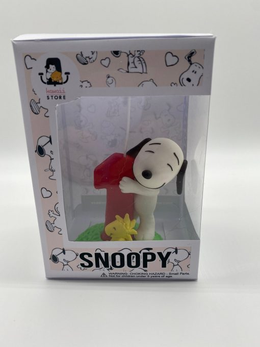 Handmade Birthday Candle Snoopy theme Inspired